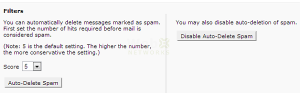 Spam Automatic Deletion