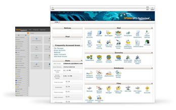 cPanel Web-based Interface